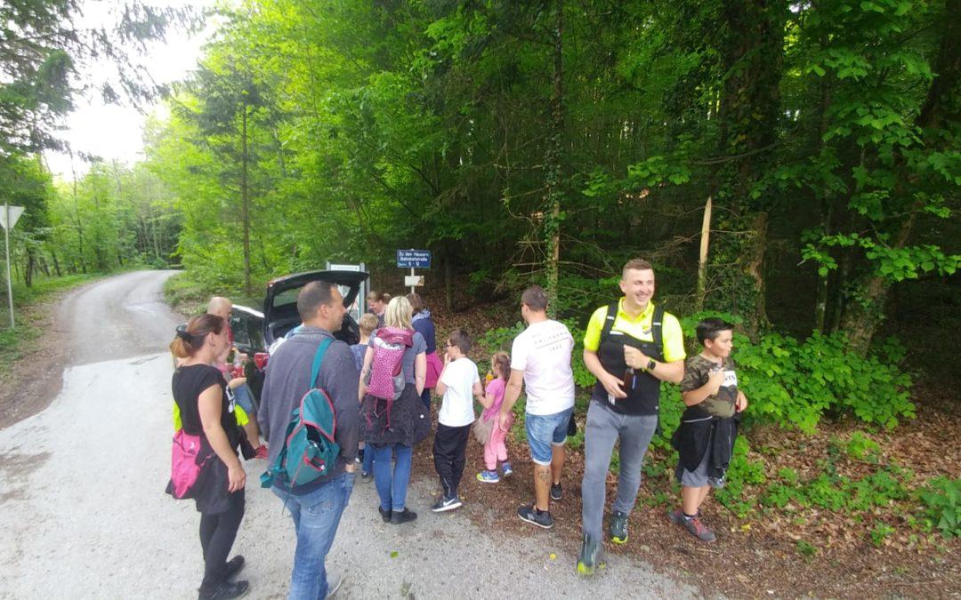 U10 Wandertag mit Eltern & Trainern 13.Mai 2019