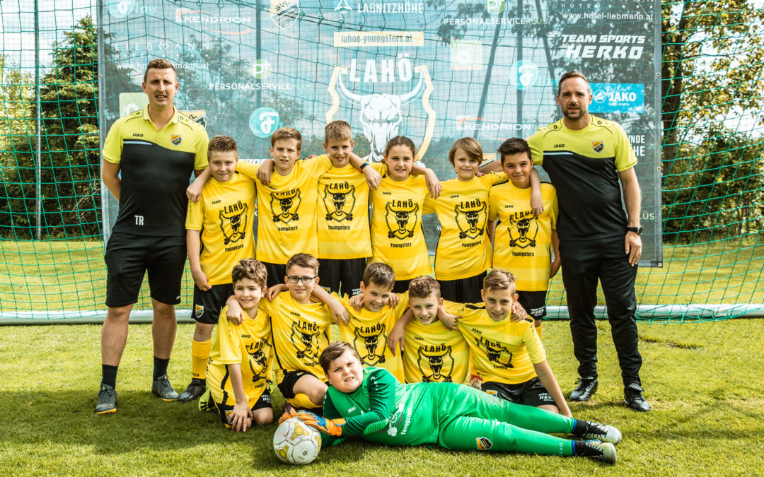 Laßnitzhöhe U11 Kinderfußball Mannschaft 2019