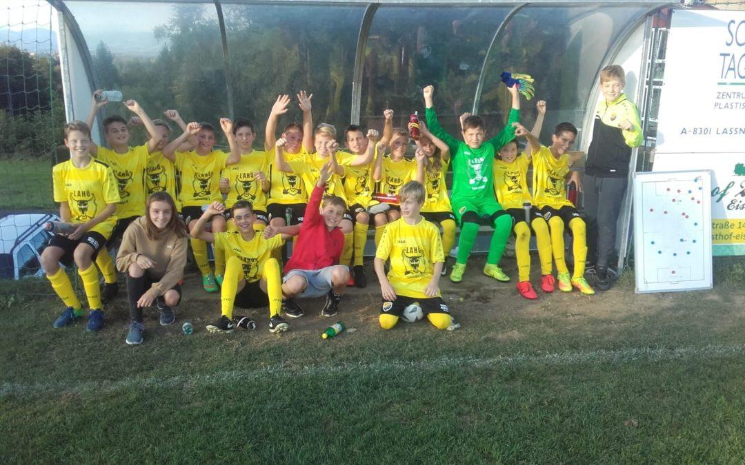 U13 Siegreich im Heimspiel | Lahö Youngsters