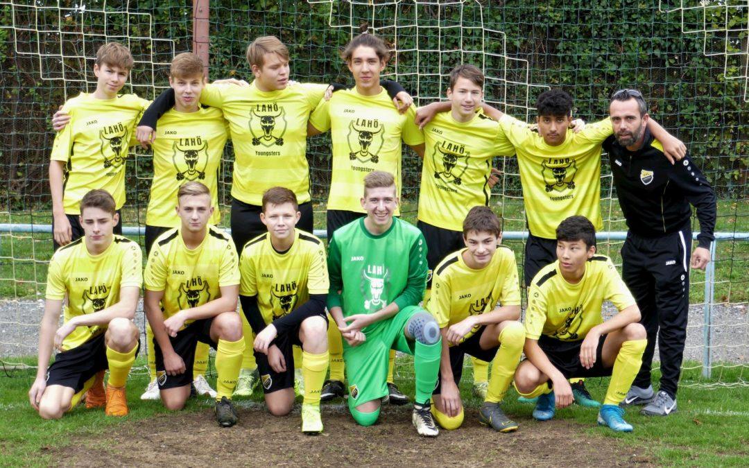 Die U17 gewinnt gegen Seiersberg