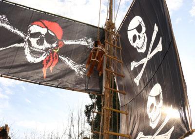 Piratenflagge - Lassnitzhöhe Faschingsumzug 2020