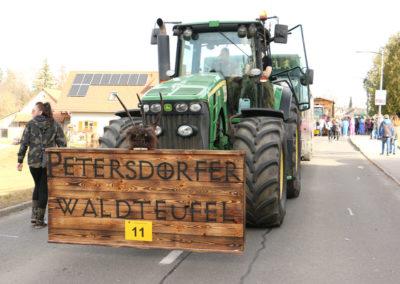 Petersdorfer Waldteufel - Lassnitzhöhe Faschingsumzug 2020