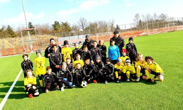 Testspiel U12 in Szombathely