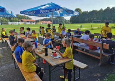 LAHÖ Fußball Sommercamp 2020 Jausenzeit 2