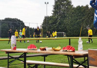 LAHÖ Fußball Sommercamp 2020 Jause
