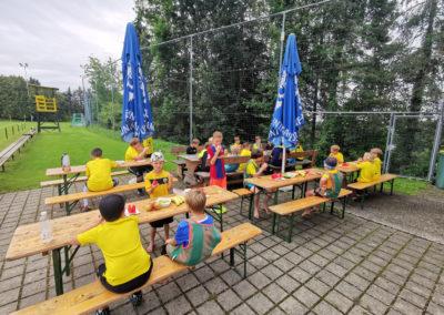 LAHÖ Fußball Sommercamp 2020 Jausenzeit